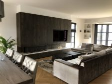 Villa E. Geldrop Living/Entree